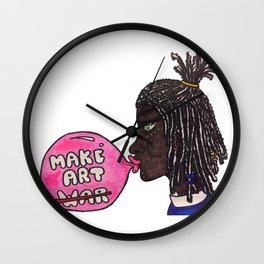 A Bubble Gum Narrative Wall Clock