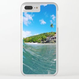 Mid Day Mood Swing Clear iPhone Case