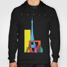 Shapes of Paris. Accurate to scale. Hoody
