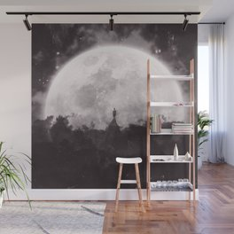 The Moon and I Wall Mural