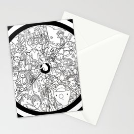 Bike Spokes & Folks Stationery Cards