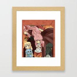 Fairy Tail Genderbend Doujinshi Cover. Framed Art Print