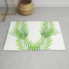 Palm V, V shape Rug