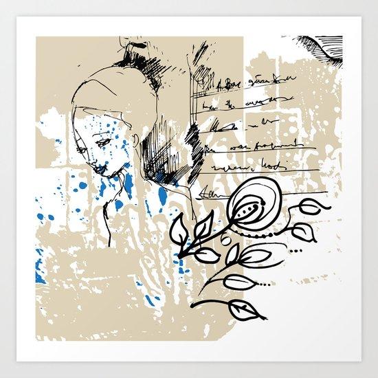 Letter Art Print