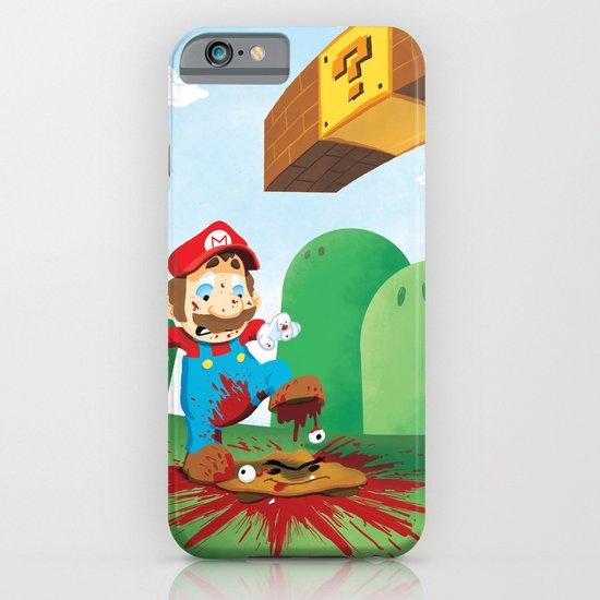 Mario Mess iPhone & iPod Case