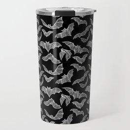 BATS (BLACK) Travel Mug