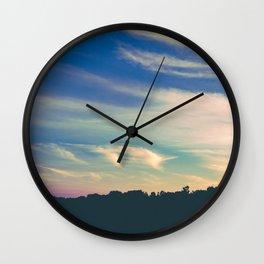 Cross My Mind Wall Clock