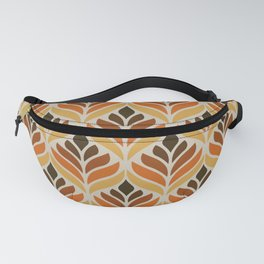 Retro Flower Pattern Fanny Pack