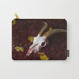 Red Grass Carry-All Pouch