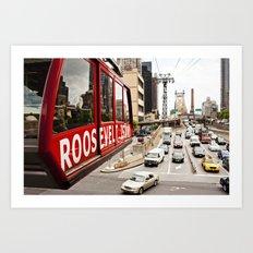 Roosevelt Island Sky Lift. New York City. Art Print