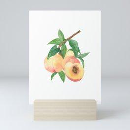 Peachy Peaches Mini Art Print