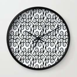 SérieArabesque-02 Wall Clock