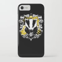 hufflepuff iPhone & iPod Cases featuring Hufflepuff Daddy by Jimiyo