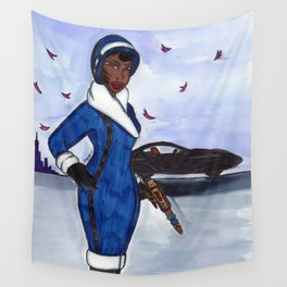 Miss Ross Wall Tapestry