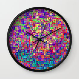 of silence Wall Clock