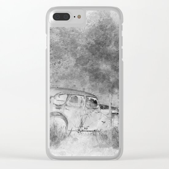Parked and forgotten Clear iPhone Case