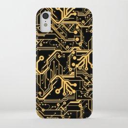 Techno Organic  iPhone Case