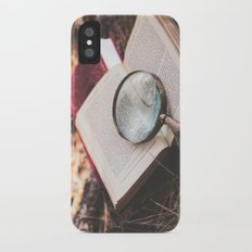 learn + explore. Slim Case iPhone X