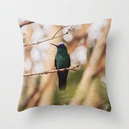 Bird - Photography Paper Effect 005 Throw Pillow