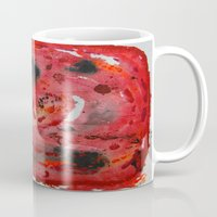 mars Mugs featuring Mars by Mayday750