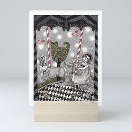 A is for Alice Mini Art Print