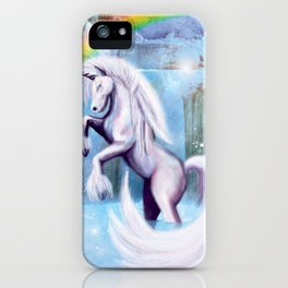 Unicorn and Sparkles - Day iPhone Case