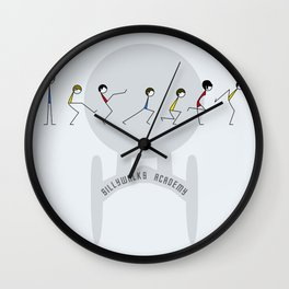 Sillywalks Academy Wall Clock