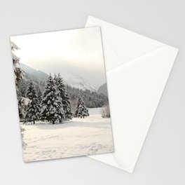 In The Wintertime Stationery Cards