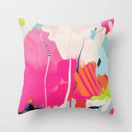 pink sky II Throw Pillow