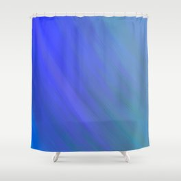 Fifty Shades of Blue Shower Curtain