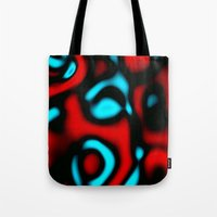 pain Tote Bags featuring Pain by Christy Leigh