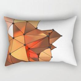 Abstract geometric reds Rectangular Pillow