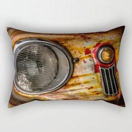 Rusty old Porsche Rectangular Pillow