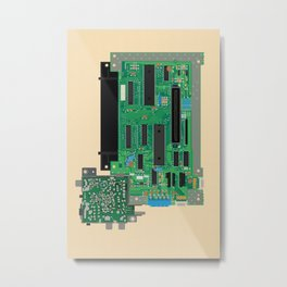 Motherboard Metal Print