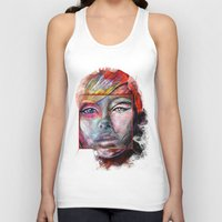 mirror Tank Tops featuring mirror by Irmak Akcadogan
