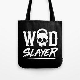WOD Slay er Skull Tote Bag