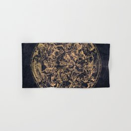Vintage Constellations & Astrological Signs | Yellowed Ink & Cosmic Colour Hand & Bath Towel