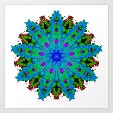 Fiore Celeste ALAD NAM Art Print