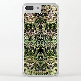 Pattern Au Naturel Clear iPhone Case