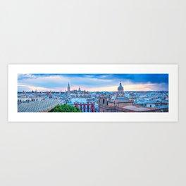 Sevilla Panorama Art Print