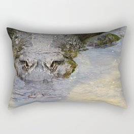 Gator Boy Rectangular Pillow