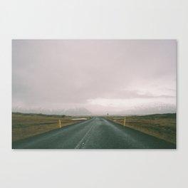 Road Iceland Canvas Print