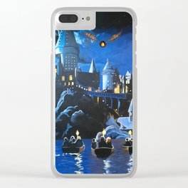 Gogwarts Clear iPhone Case