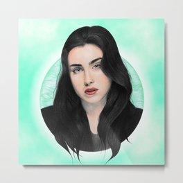 Lauren Jauregui Metal Print