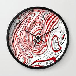 Contours 2 Wall Clock