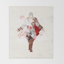 Assassins Creed: Ezio Auditore da Firenze Throw Blanket