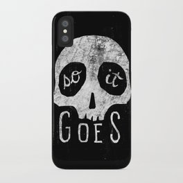So It Goes iPhone Case