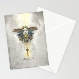 Alis grave nil - Nothing is heavy to those who have wings Stationery Cards