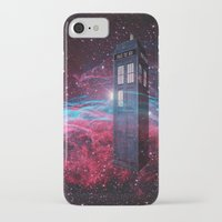 dr who iPhone & iPod Cases featuring Dr Who police box  by store2u