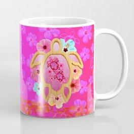 Hawaiian Pink Turtle Coffee Mug